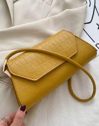 Дамска чанта в цвят горчица - код B422