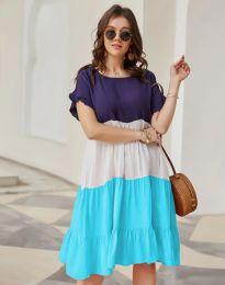 Свободна дамска рокля - код 1039 - 2