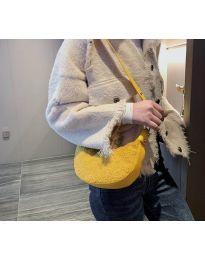 Дамска чанта в цвят горчица - код B156