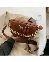 Дамска чанта в кафяво - код B52