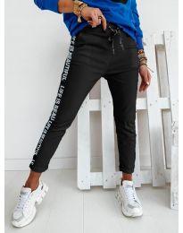 Дамски панталон в черно - код 3062