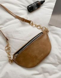 Дамска чанта в светлокафяво - код B334