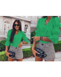 Елегантна риза в зелено - 913