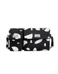 Дамска чанта в черно - код B95 - 2