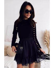 Дамска блуза в черно - код 2899