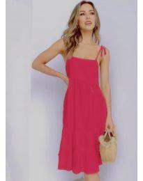 Дамска рокля в циклама - код 630