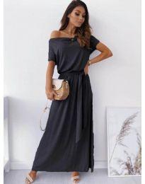 Изчистена рокля в черно - код 7700