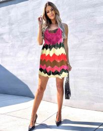 Атрактивна дамска рокля - код 0969 - 3