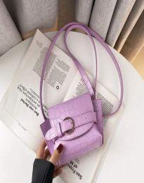 Елегантна дамска чанта в лилаво - код B500