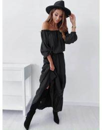 Дамска рокля в черно - код 1317
