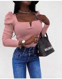 Елегантна блуза в розово - код 2620