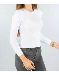 Дамска блуза в бяло - код 374