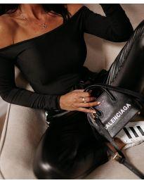 Блуза в черен цвят - код 3674