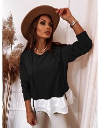 Дамска блуза в черно - код 3898