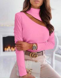Елегантна блуза в розово - код 11490