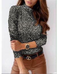 Дамска блуза с атрактивен десен - код 283 - 6