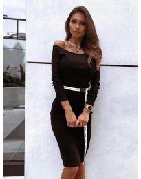 Дамска рокля в черно - код 4720