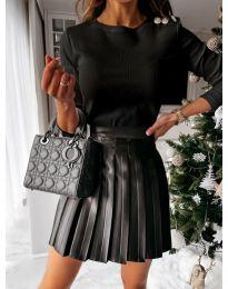 Дамска блуза в черно - код 4244