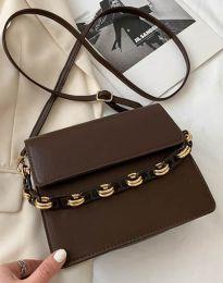 Дамска чанта в кафяво - код B337