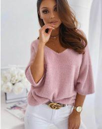 Дамска блуза в розово - код 901