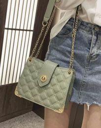 Атрактивна дамска чанта в цвят мента - код B414