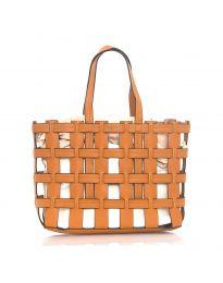 Дамска чанта в кафяво - код LS563
