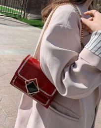 Дамска чанта в червено - код B296