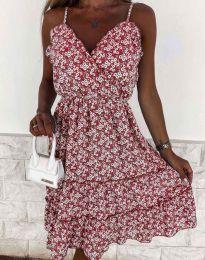 Атрактивна рокля на цветя - 3265 - 5