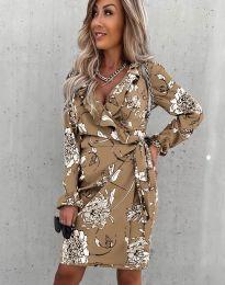Елегантна дамска рокля - код 2937 - 1
