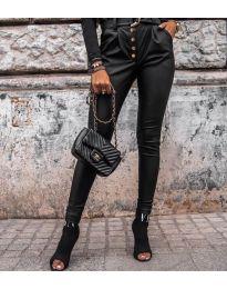 Панталон в черно с копчета - код 5698