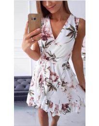 Феерична рокля в бяло - код 739