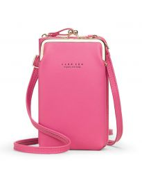 Дамска чанта в цвят циклама - код B148