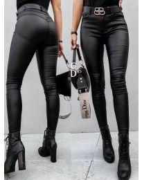 Елегантен дамски панталон в черно - код 2993