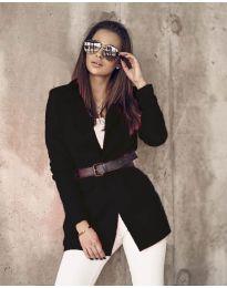 Дамско сако в черно - код 5957