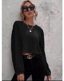 Дамска блуза в черно - код 5932