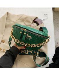 Дамска чанта в зелено - код B52