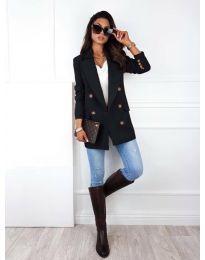 Дамско сако в черно - код 2113