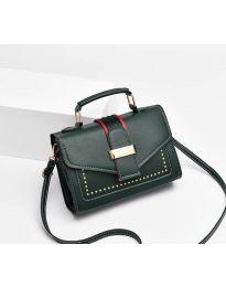 Дамска чанта в тъмно зелено - код B104