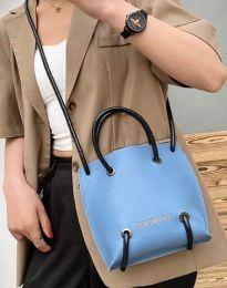 Дамска чанта в синьо - код B459