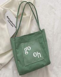 Дамска чанта в зелено - код B579