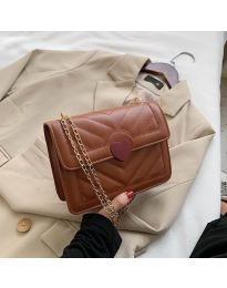 Дамска чанта в кафяво - код B83