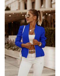 Дамско яке в синьо - код 761
