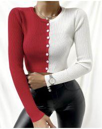 Екстравагантна дамска блуза - код 6366 - 4