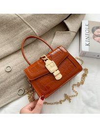 Дамска чанта в кафяво - код B118
