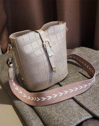 Дамска чанта в бежово - код B295