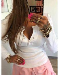 Блуза - код 082 - бяло