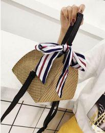 Дамска чанта в цвят капучино - код B473