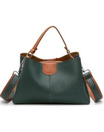 Дамска чанта в зелено - код B138