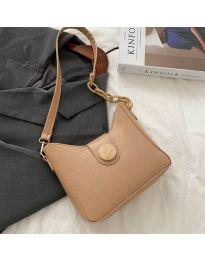 Дамска чанта в цвят капучино - код B88