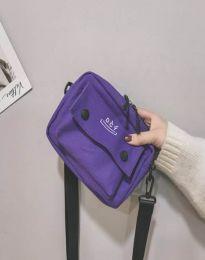 Дамска чанта в лилаво - код B524